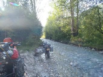 BAM river ride.