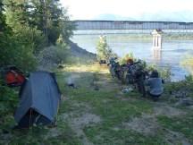 Vitim campsite.