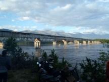 The Vitim bridge.