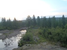 M56 Lena highway 2nd campsite.