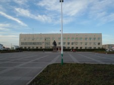 Ulaangom centre.