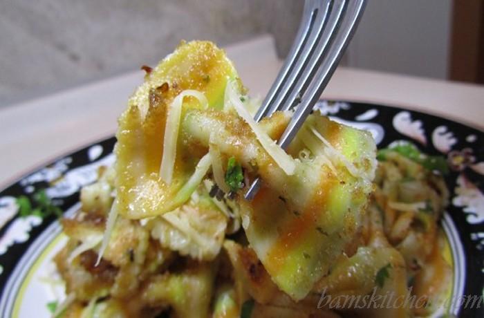 Rainbow breadcrumbs Pasta