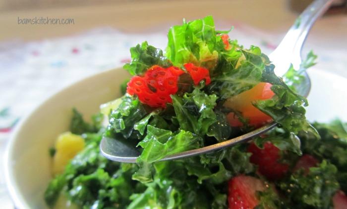 Tutti Fruitti Kale abd citrus honey dressing_IMG_6174