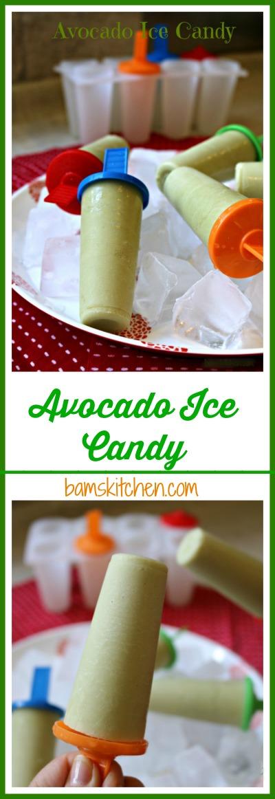 Avocado Ice Candy / http://bamskitchen.com