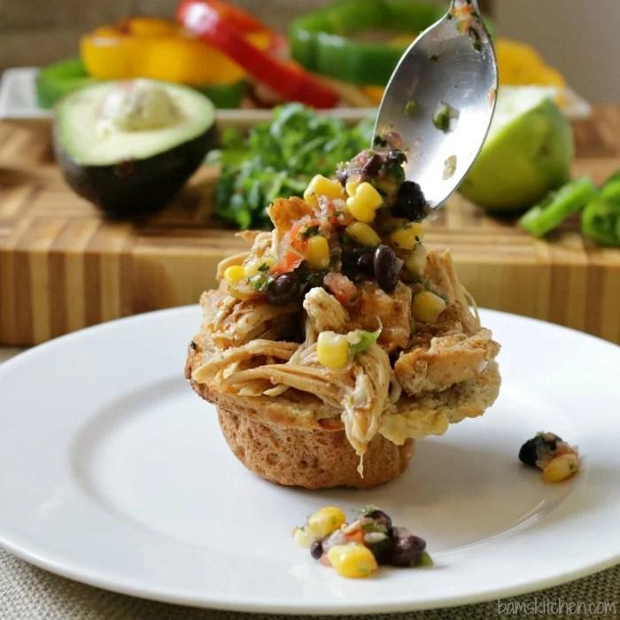 Chicken Fajitas Sliders-Bam's Kitchen