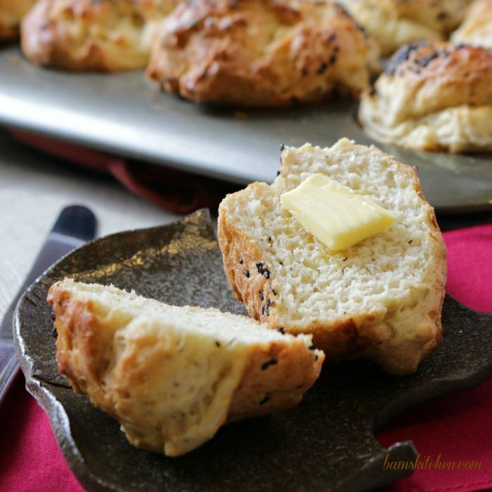 Gluten-Free Herbs de Provence Buns- Bam's Kitchen