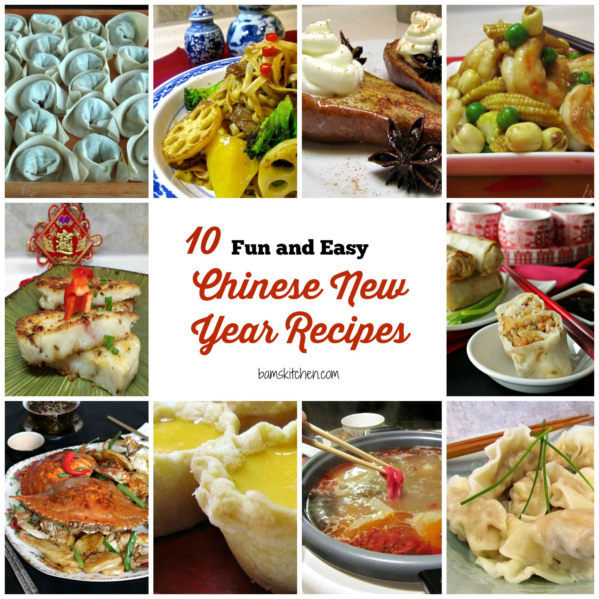 10 Fun And Easy Chinese New Year Recipes