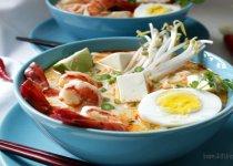 Gluten-Free Coconut Curry Laksa