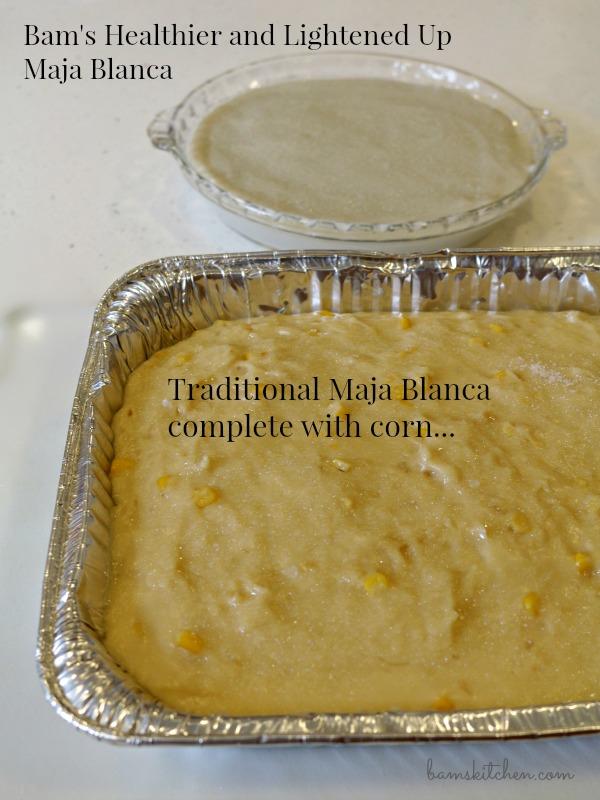 Tropical Maja Blanca / http://bamskitchen.com
