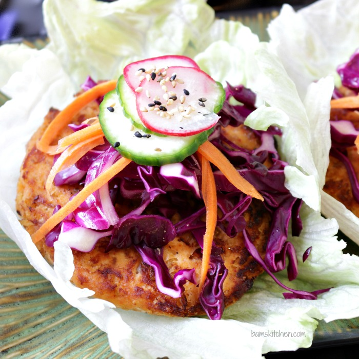 Kimchi Salmon and Quick Pickles / http://bamskitchen.com