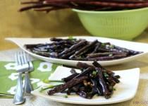 Adobong Pulang Sitaw (Long RED Beans)