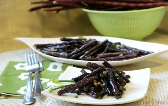 Adobong Pulang Sitaw Long RED Beans / http://bamskitchen.com