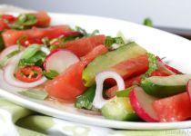 Thai Grilled Watermelon Salad
