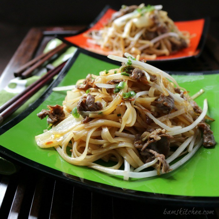 Beef-Noodles-and-Spicy-XO-Sauce / http://bamskitchen.com