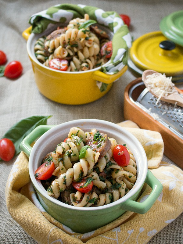 Saucy Sausage Pasta / http://bamskitchen.com