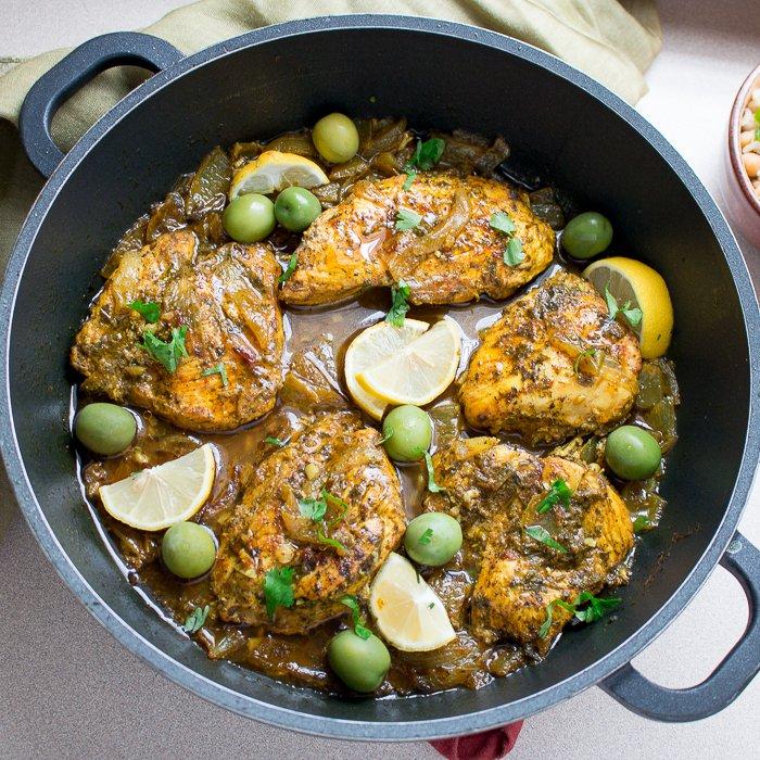 Moroccan Olive Chicken / http://bamskitchen.com