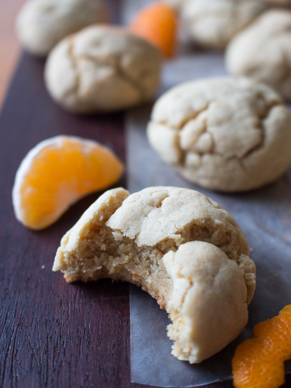 Chewy Mandarin Orange Cookies / http://bamskitchen.com