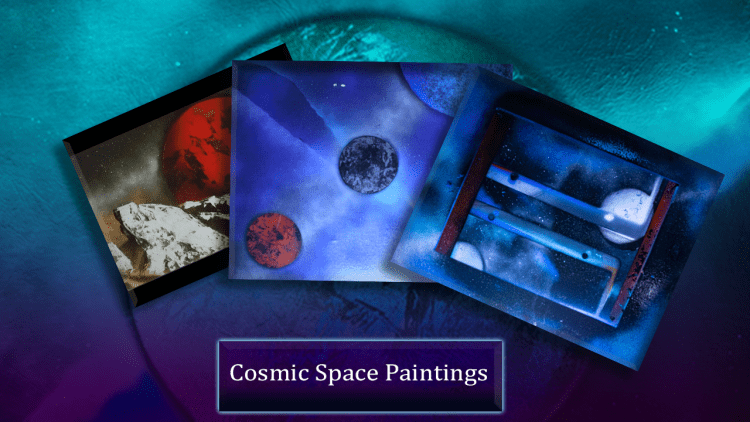 Cosmic Space Painting Thumbnail 1