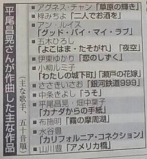 平尾昌晃さんが手がけたヒット曲