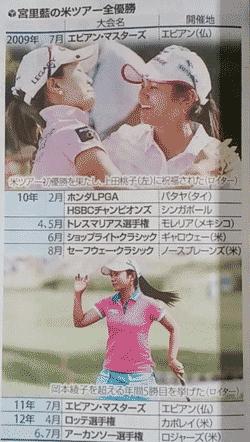 宮里藍が獲得した全米タイトル