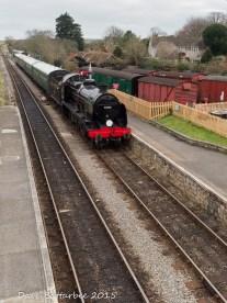 The Train Arriving at Platform...