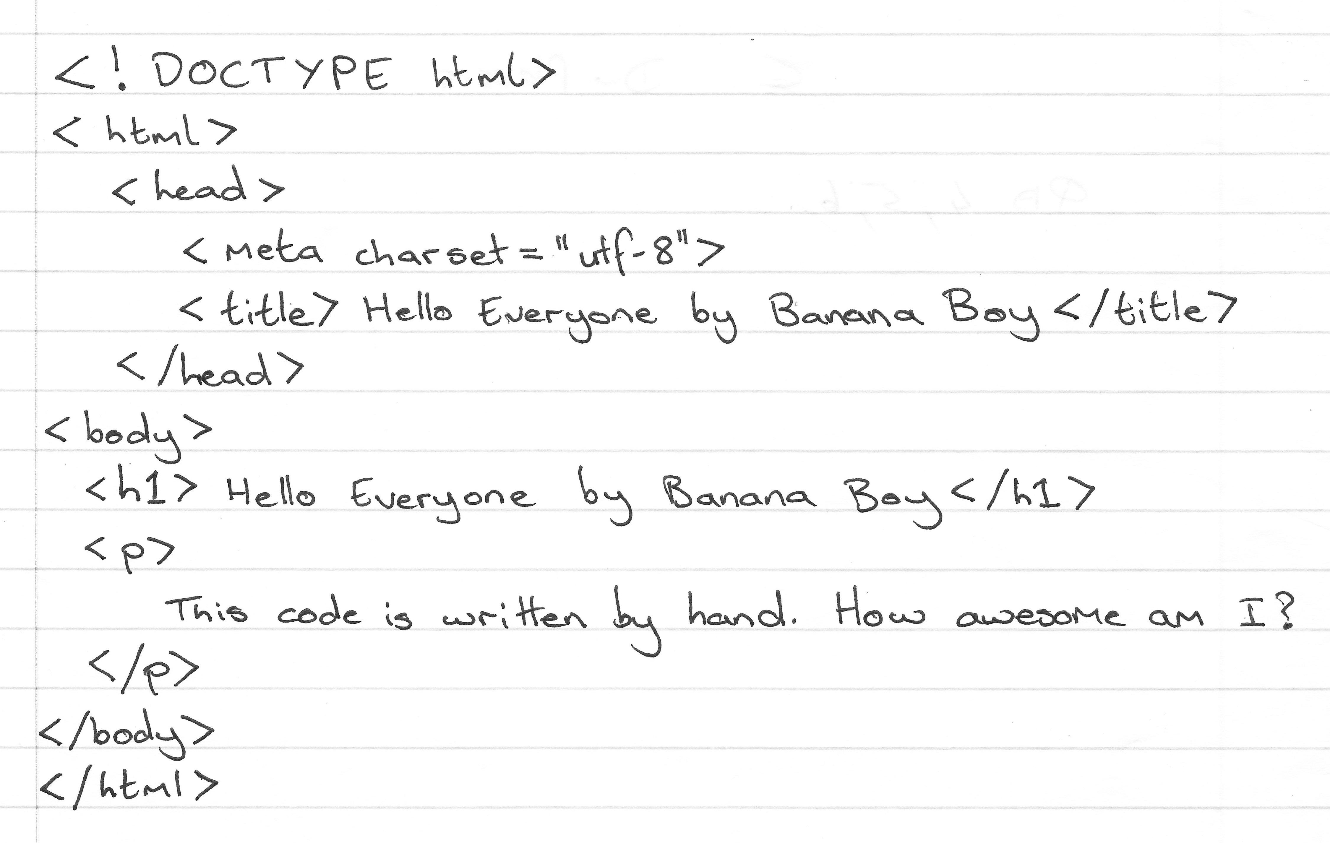Banana Boy Blog