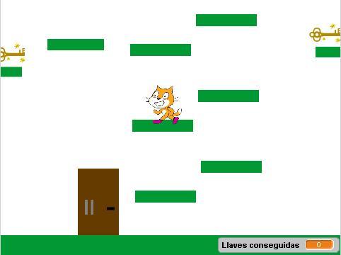 Juego de plataformas en Scratch Parte 2: Abrir puertas con una llave y pasar de nivel