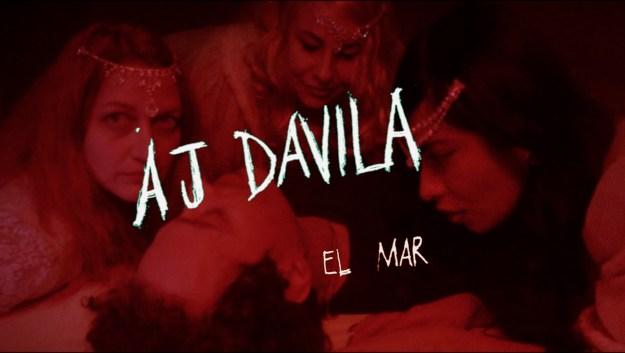 """AJ Dávila estrena su sencillo """"El mar"""""""