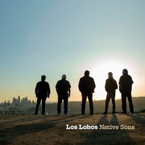"""Portada del nuevo disco de Los Lobos """"Native Sons"""""""