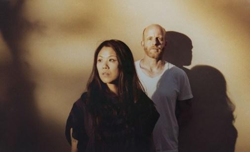 El DJ Juan MacLean y Nancy Whang.