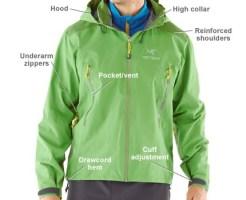 Climbing rain gear