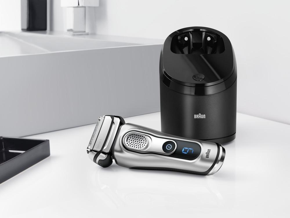 Braun Series 9 CC mit Reinigungsstation