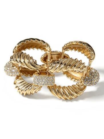 Banana Republic Vintage Link Bracelet - Gold