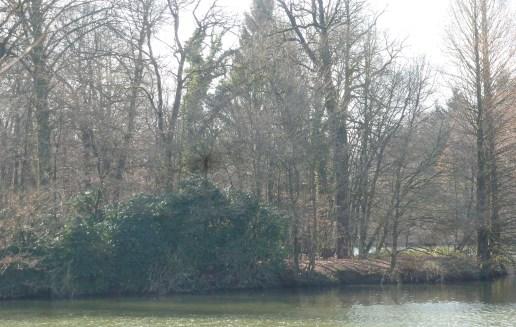Der See vor der Zeltkirche