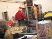 Kebab stand - so good that I had it twice.