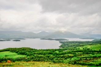 Amazing view of Loch Lomond