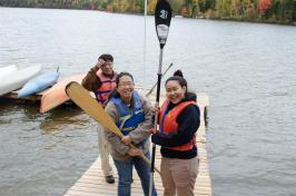 Let's go canoeing!