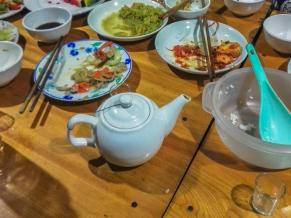 The magical teapot that never runs out of rice wine...