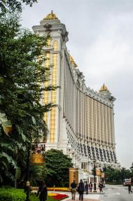 The exterior of Galaxy Macau