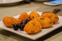 Bolinhos de bacalhau, salted codfish balls