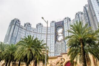 A casino in the Cotai Strip