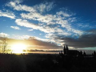 Sunrise over Kelvingrove