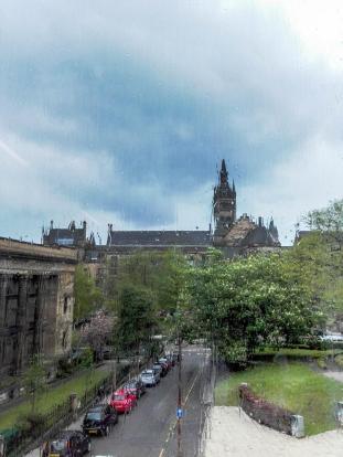 Rainy Glasgow