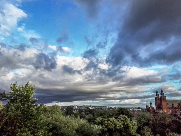 Clouds over Kelvingrove