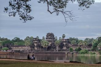 Angkor Wat from afar
