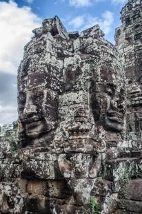 Smiling faces at Bayon