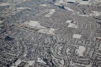 Before landing in Toronto, during the winter