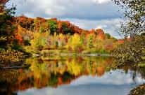 Moccasin Trail Park during fall season