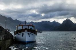 Boarding the boat to Loch Coruisk