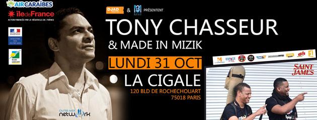 Tony Chasseur à la Cigale